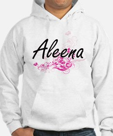 Aleena Artistic Name Design with Hoodie
