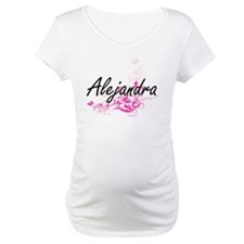 Alejandra Artistic Name Design w Shirt