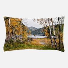 Autumn Lake View Pillow Case