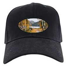 Autumn Lake View Baseball Hat