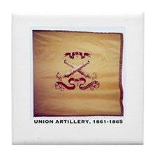Union Artillery Tile Coaster