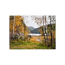 Autumn Lake View 5'x7'Area Rug