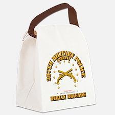 287th MP Company - Berlin Brigade Canvas Lunch Bag