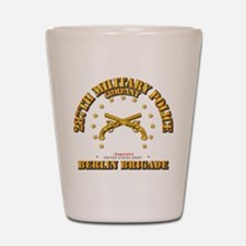 287th MP Company - Berlin Brigade Shot Glass