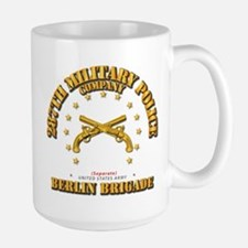 287th MP Company - Berlin Brigade Large Mug
