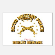 287th MP Company - Berlin Postcards (Package of 8)