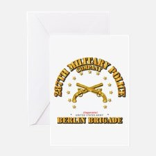 287th Mp Company - Berlin Brigade Greeting Cards