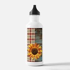 primitive country plai Water Bottle