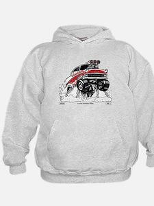 1956 Gasser wheelie-1 Hoodie