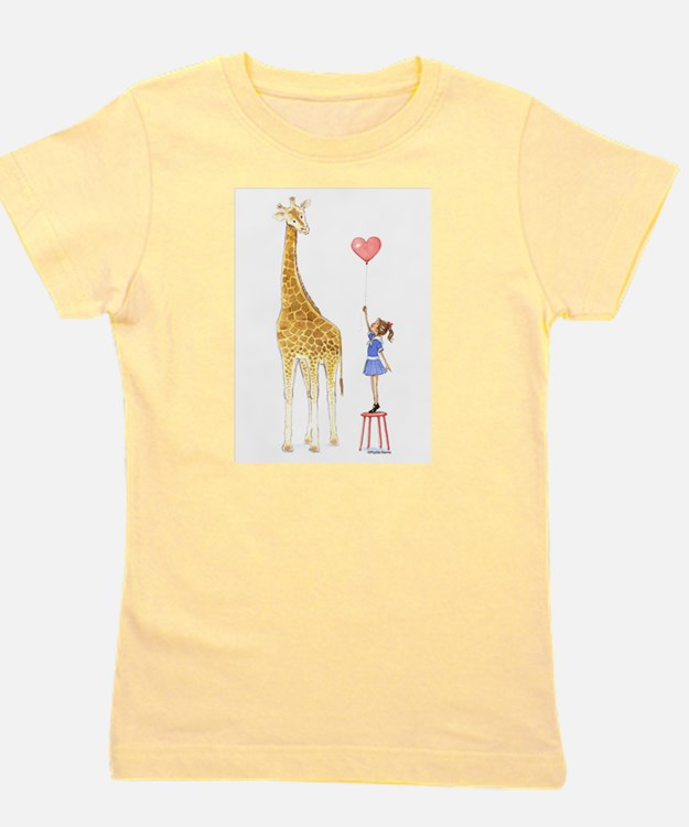 Cute Giraffes Girl's Tee