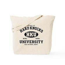 Hard Knocks Funny Tote Bag