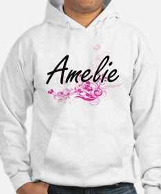 Amelie Artistic Name Design with Hoodie