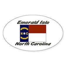 Emerald Isle North Carolina Oval Decal