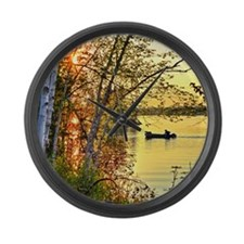 Heading Home Large Wall Clock