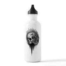 Skull Rose Water Bottle