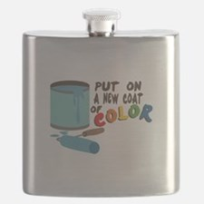 Coat Of Color Flask