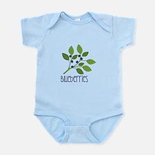 Unique Blueberries Infant Bodysuit