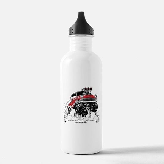 1956 Gasser wheelie-1 Water Bottle