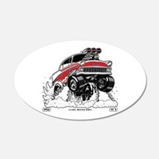 1956 Gasser wheelie-1 Wall Decal