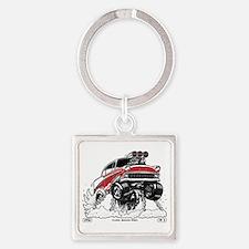 1956 Gasser wheelie-1 Keychains