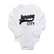 Unique Jersey city Long Sleeve Infant Bodysuit