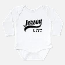 Cute Jersey city Long Sleeve Infant Bodysuit