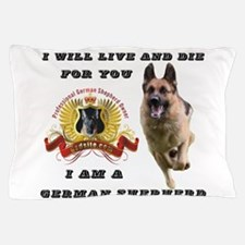 Cute German shepherd Pillow Case