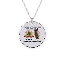 Cute German shepherd Necklace