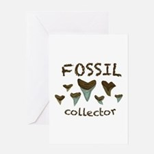 Fossil Collector Greeting Cards
