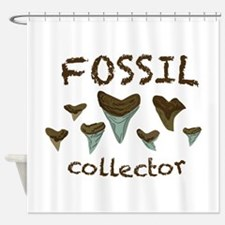 Fossil Collector Shower Curtain