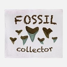 Fossil Collector Throw Blanket