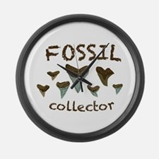 Fossil Collector Large Wall Clock