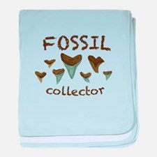 Fossil Collector baby blanket