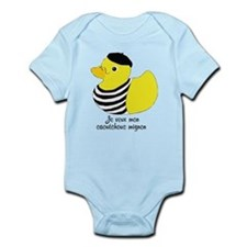 French Rubber Ducky Body Suit