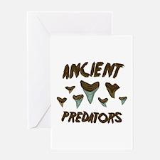 Ancient Predators Greeting Cards