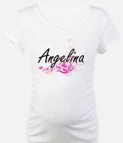 Angelina Artistic Name Design wi Shirt