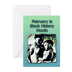 Black History Month #1 Note Cards (Pk of 10)