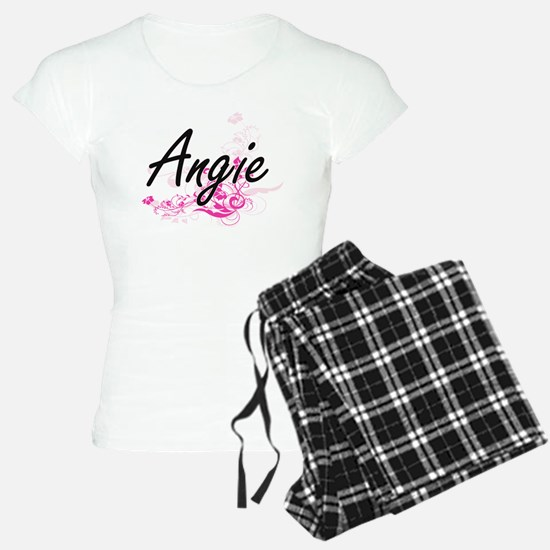 Angie Artistic Name Design Pajamas
