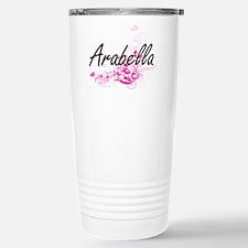 Arabella Artistic Name Travel Mug