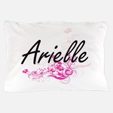 Arielle Artistic Name Design with Flow Pillow Case