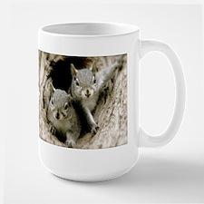 Baby Squirrels Mugs