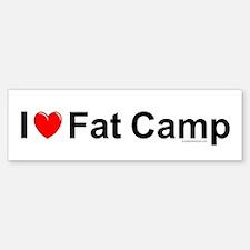 Fat Camp Sticker (Bumper)