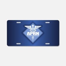APRN (b)(diamond) Aluminum License Plate