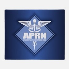 Aprn (b)(diamond) Throw Blanket
