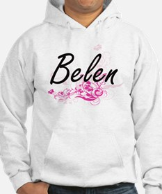 Belen Artistic Name Design with Hoodie