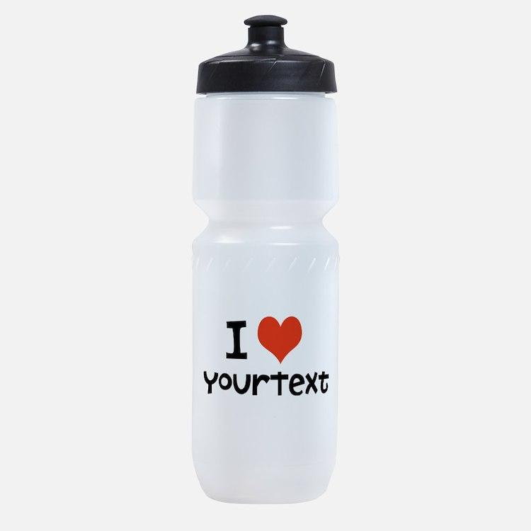 CUSTOMIZE I heart Sports Bottle