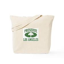 Preserve Los Angeles Tote Bag