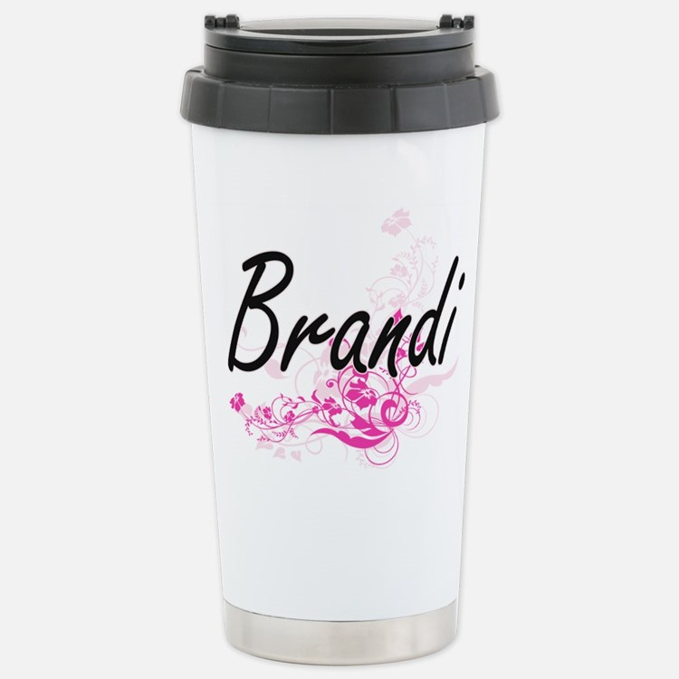 Brandi Artistic Name De Travel Mug