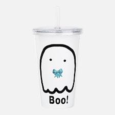 Blue Boo Ghostie Acrylic Double-wall Tumbler