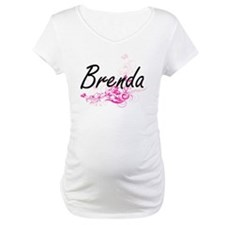 Brenda Artistic Name Design with Shirt